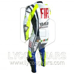 Valentino Rossi Yamaha FiatVR46 Racing Leather Suit