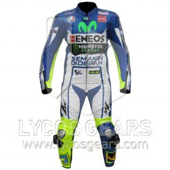 Valentino Rossi Yamaha Movistar 2015 Motorbike Racing Leather Suit
