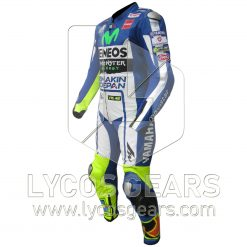 Valentino Rossi Yamaha Movistar 2015 Motorbike Racing Leather Suit