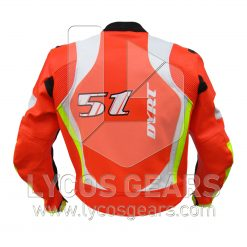 Yahama Motogp Motorbike Racing Leather Jacket