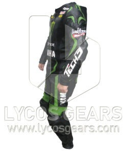 Yamaha Tech Motorbike Racing Leather Suit