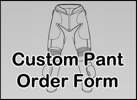 Custom pant size