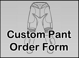 Custom Pants - Mens Motorcycle Suit
