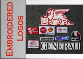 ducati corse motorcycle jacket - Leather patch