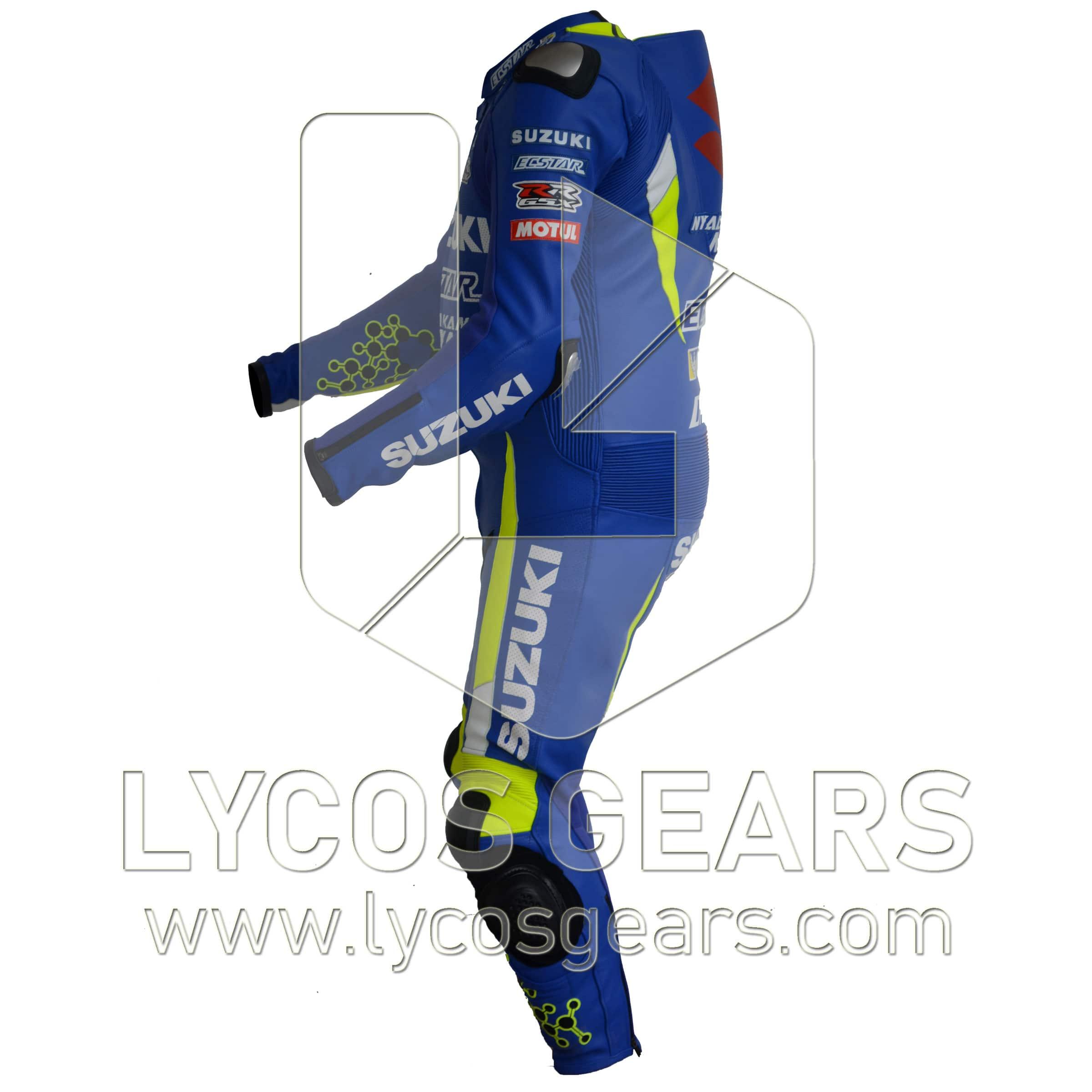 Andrea Iannone Motorbike Racing Leather Suit