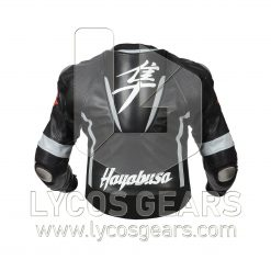 Hayabusa Motorbike Racing Leather Jacket - New 2018!