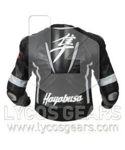Hayabusa Motorbike Racing Leather Jacket - New 2018!