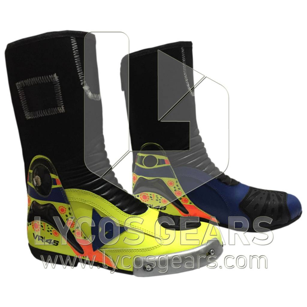 Rossi Motorcyle Boots 2014