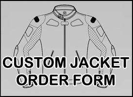custom-jacket - Tom Sykes Kawasaki Motorcycle Leather Jacket