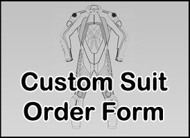 Custom Suit - Tom Sykes Kawasaki Motorcycle Leather Jacket