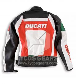 Ducati Motorbike Leather Jacket Replica