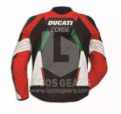 Ducati Motorcycle Leather Jacket Replica
