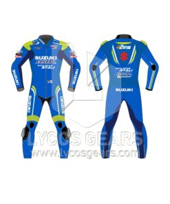 Alex Rins motorcycle suit motogp 2018