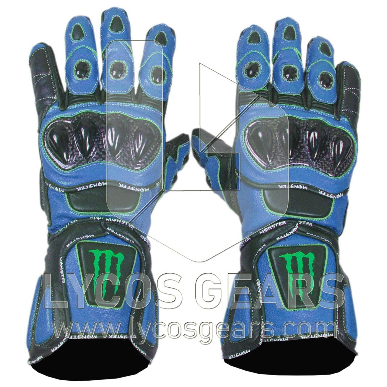 kawasaki monster motorcycle gloves