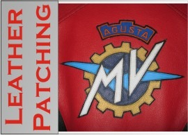 Leather-patch
