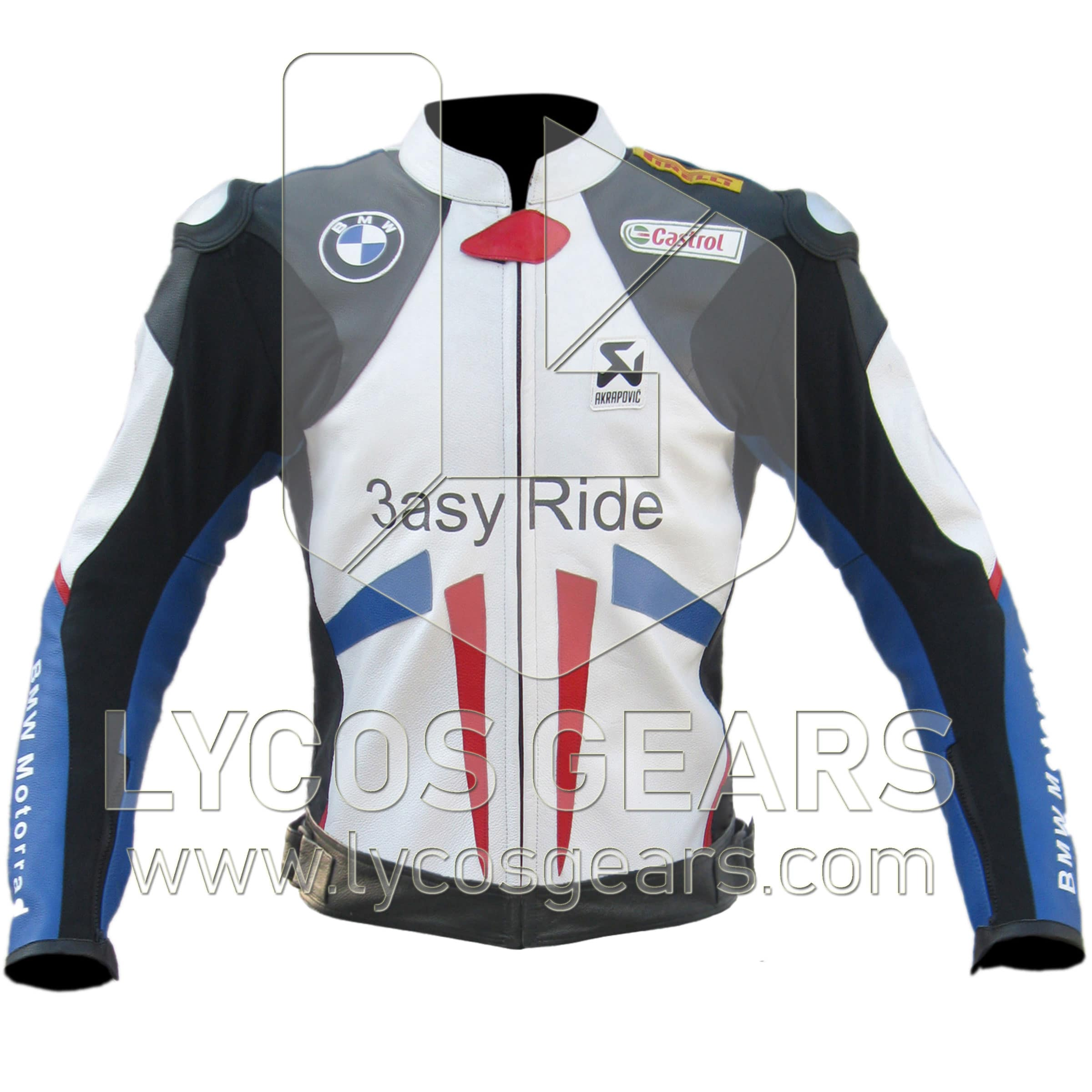 Bmw Motorcycle Jacket >> Bmw Easy Ride Motorcycle Leather Jacket