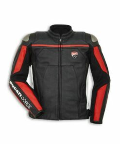 Ducati Corse Motorbike Leather Jacket