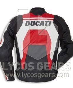 Ducati Corse C4 Motorbike Racing Leather Jacket