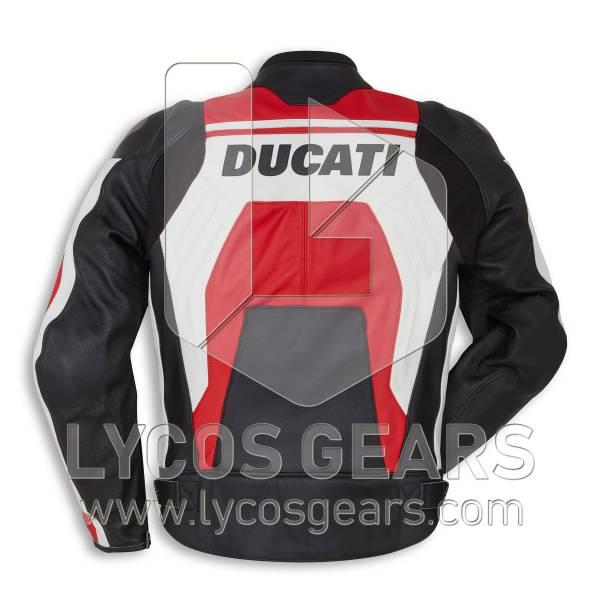 Ducati Corse C4 Motorbike Racing Leather Jacket