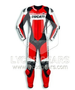 Ducati Corse C4 Motorcycle Racing Leather Suit
