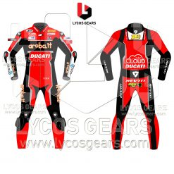 Aruba.it Alvaro Bautista WSBK 2019 Ducati Racing Suit
