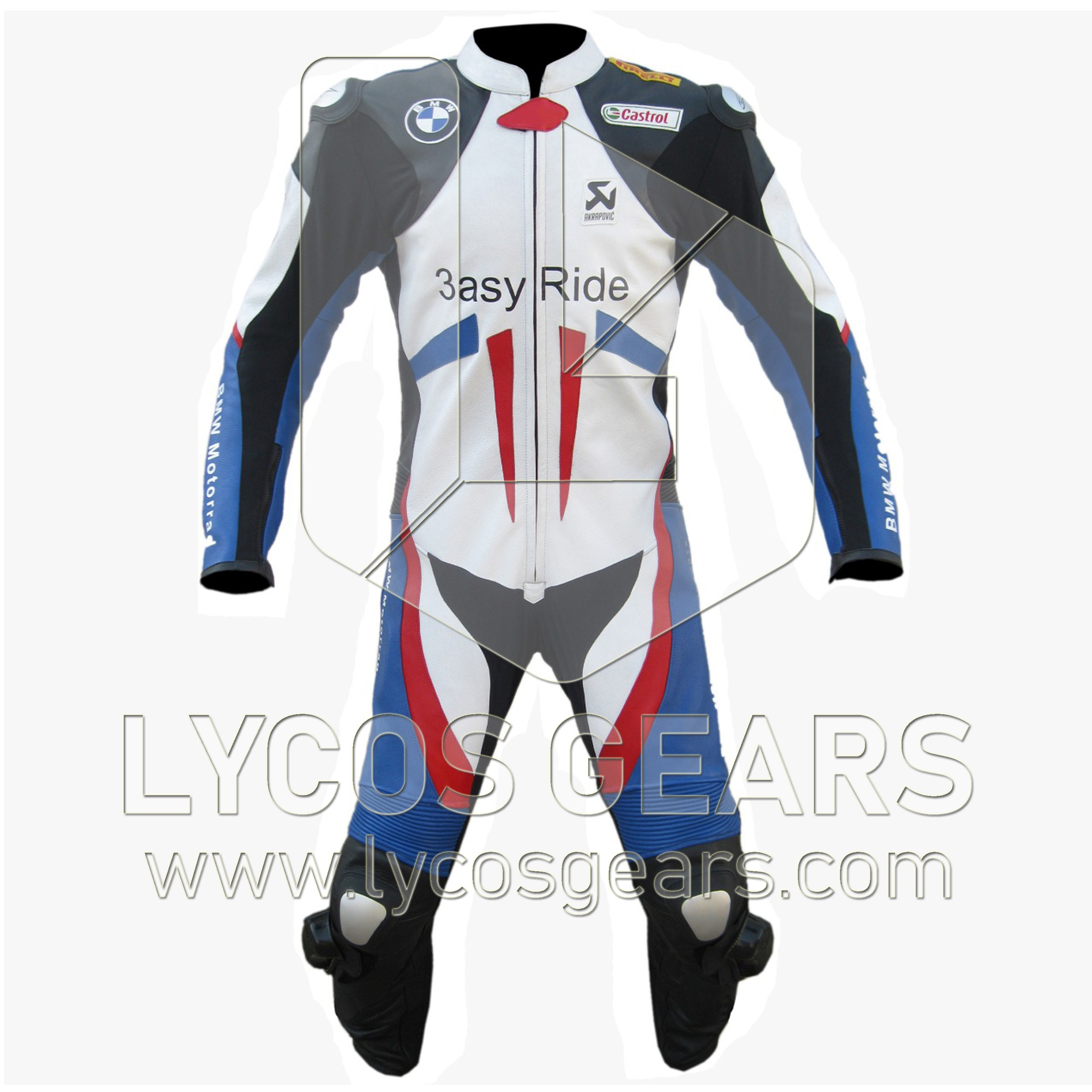 BMW Easy Ride Motorbike Racing Leather Suit
