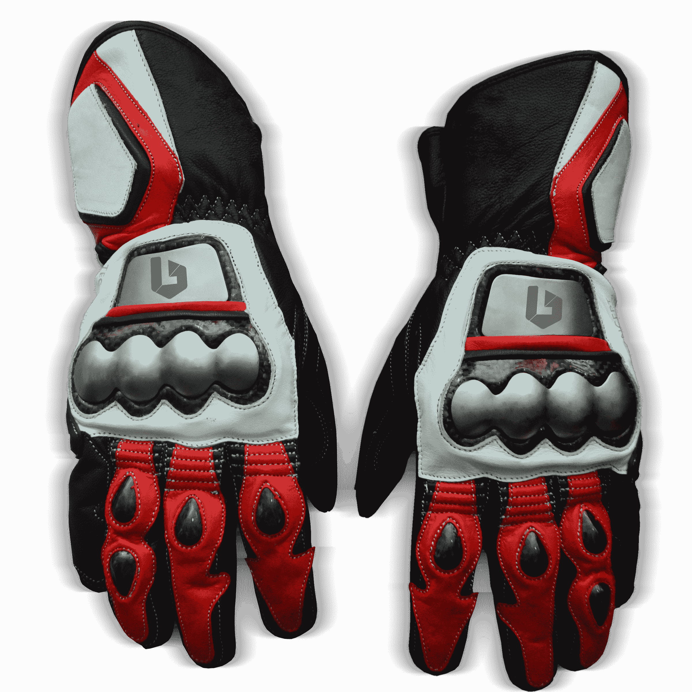 Ducati-Motorbike-Racing-Leather-Gloves