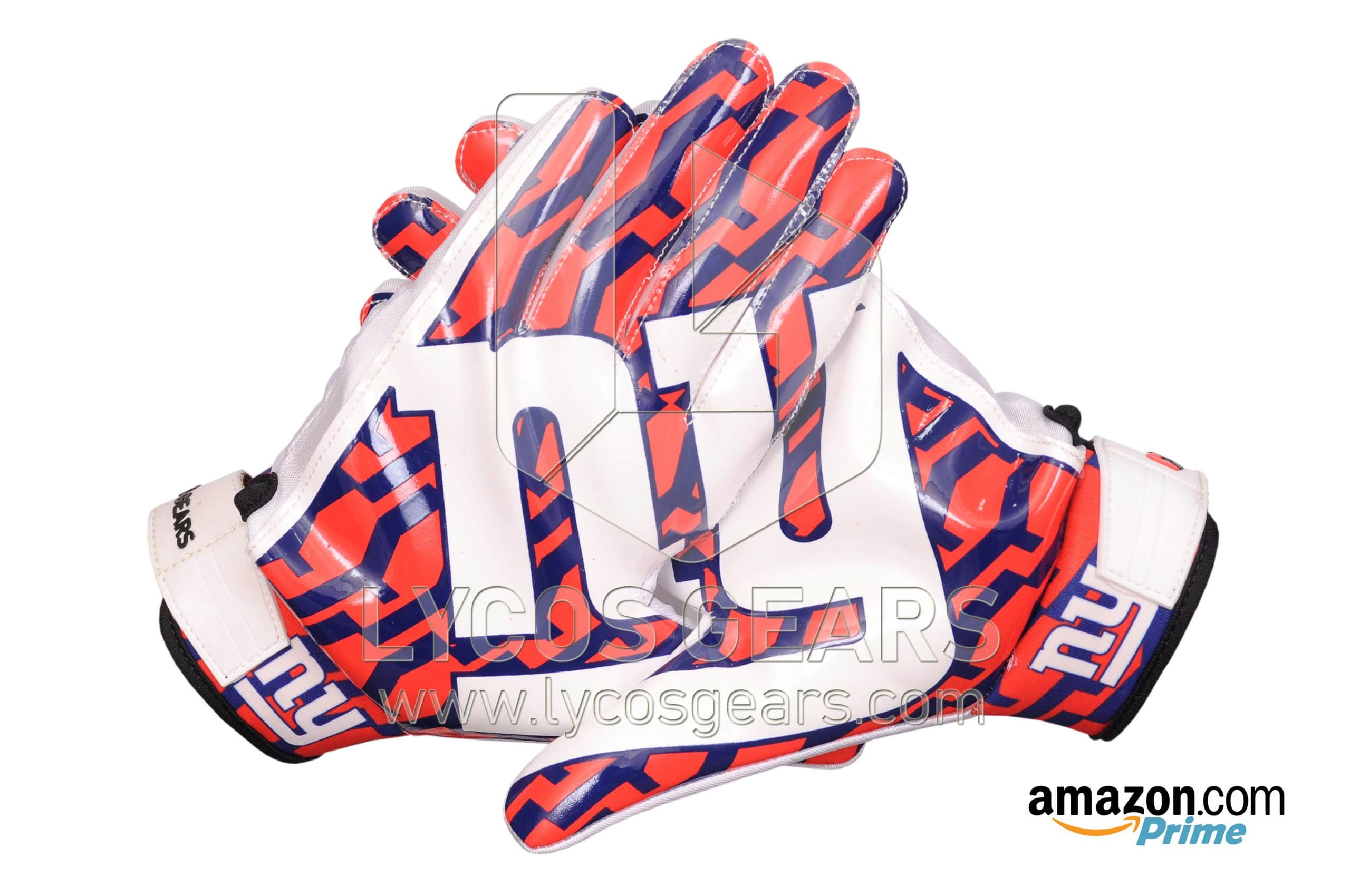 New York Giants American NFL Football Gloves