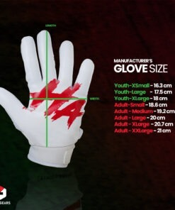 Football Gloves Size Chart - Lycos Gears