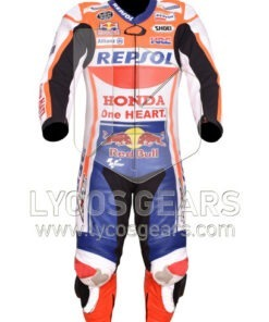 Marc Marquez Honda Repsol Racing Leather Suit 2019