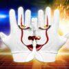 Clown Football Gloves